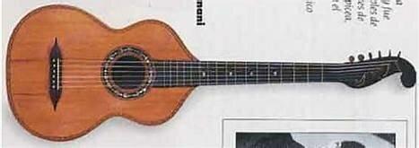 May 27, 1830 Guitarra de estilo Legnani