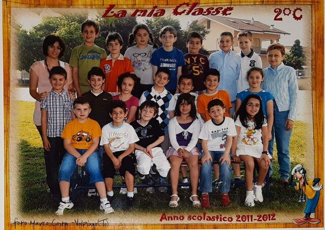 Foto di Classe Secondo Anno Scuole Elementari