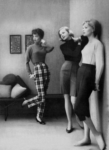 Completion of the fashion of the 60's