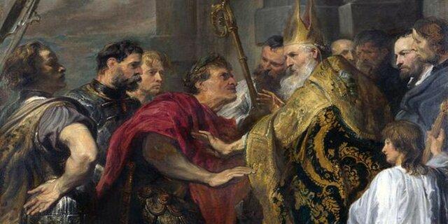 El cristianismo se declara religión oficial del Imperio Romano