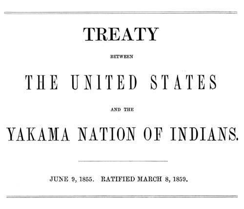 Yakama Treaty of 1855