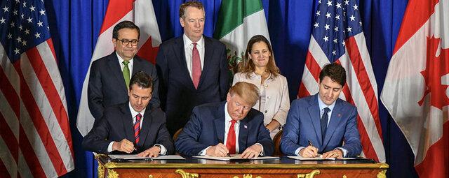 Acuerdo Comercial entre México, Estados Unidos y Canadá (T-MEC)