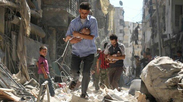 Comença la guerra de Síria (polític)