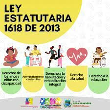 La Ley Estatutaria 1618 de 2013