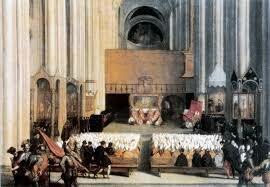 Primera sesión del Concilio de Trento (Barroco)