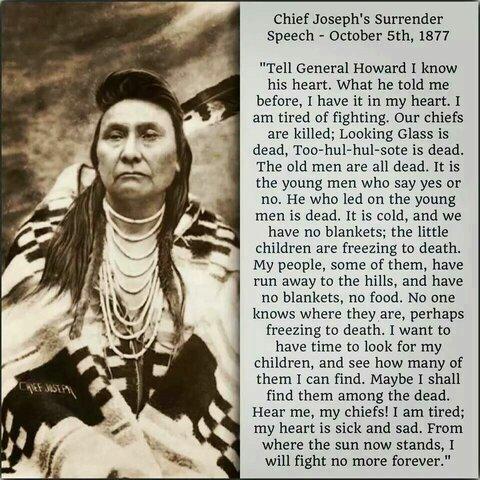Sitting Bull Surrender Speech