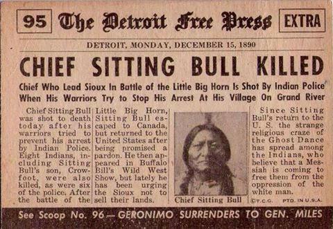 Sitting Bull Death
