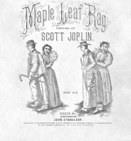 Maple Leaf Rag was Published