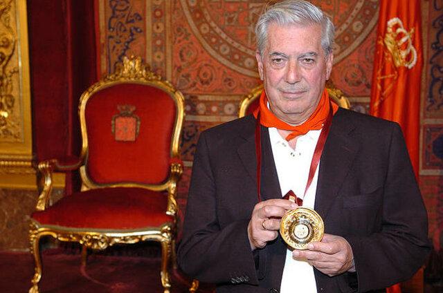 Premi Nobel de literatura Mario Vargas Llosa (fet cultural)