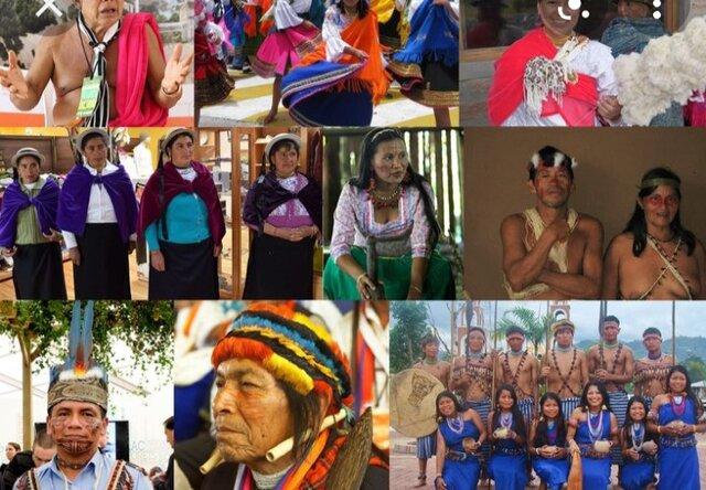 Origen y diversidad de la población ecuatoriana