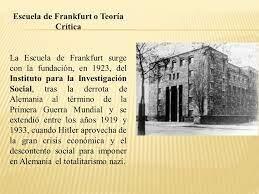 ESCUELA DE FRANK FURT