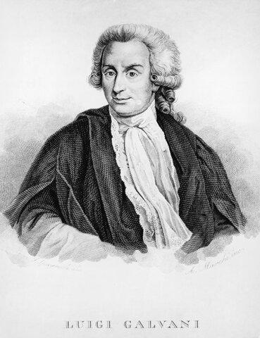 Luigi Galvani (1727-1798)
