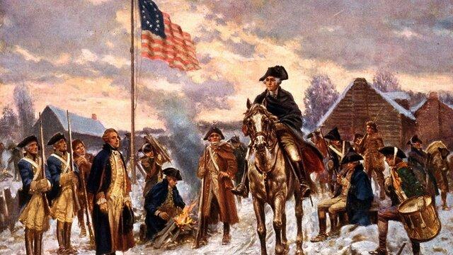 The Revolutionary War.