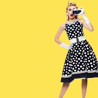 Moda de los años 50 y 60 timeline