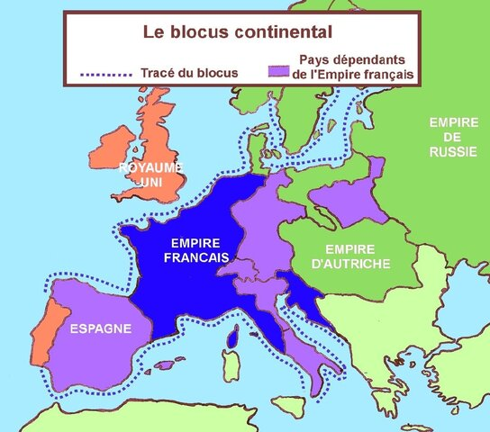 Décret de Berlin et blocus continental