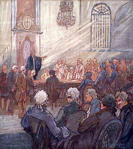 L'assemblée élue du Bas‑Canada tient sa première réunion à Québec