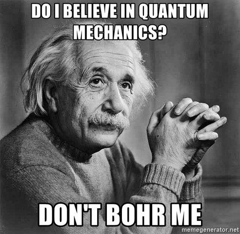 Bohr vs. Einstein