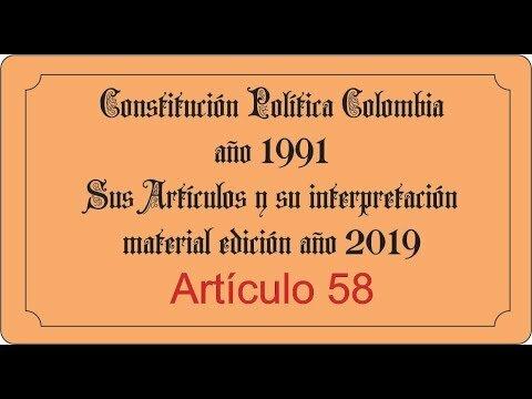 Constitución Política de Colombia de 1991.