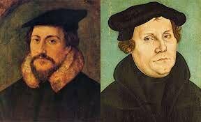 Humanismo democrático - Las primera escuelas ( Martín Lutero y Calvino)
