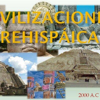 Civilizaciones Prehispánicas en México timeline