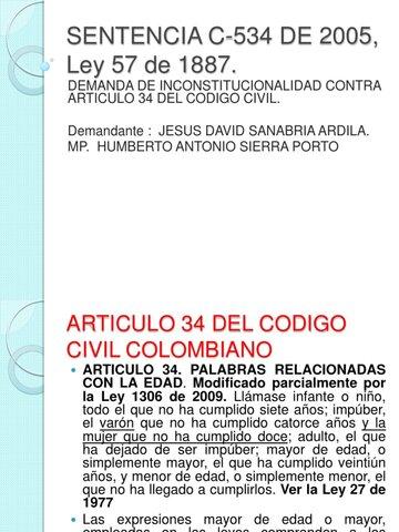Corte Constitucional. Sentencia C 534/2005.