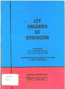 La Ley Orgánica de Educación