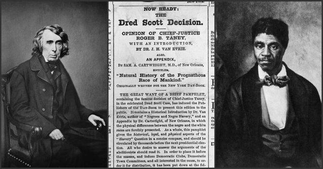 The Dred Scott Decision on Black Citizenship