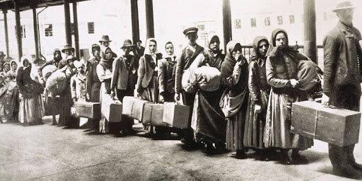 Mass Polish and Russian Immigration