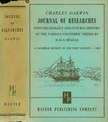 Journal Published From H.M.S Beagle Voyage