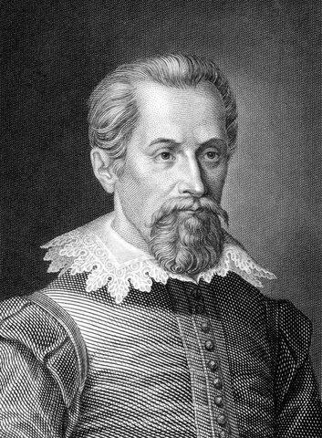 Немецкий астроном Иоганн Кеплер открыл математические законы отражения света в зеркалах