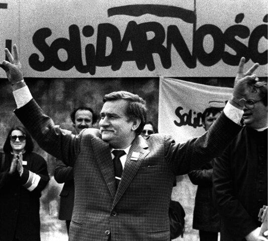 Polonia: Lech Walesa y el movimiento Solidaridad