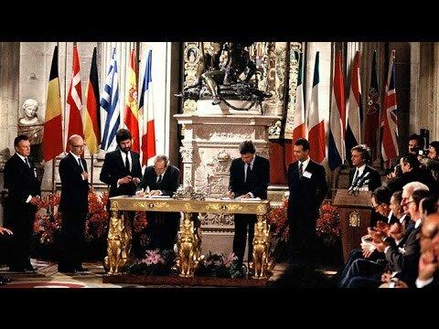 España entra en la UE
