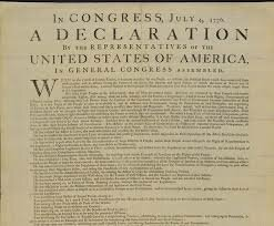 Declaración de Independencia de los Estados Unidos