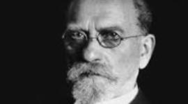 "German philosopher Edmund Husserl (1859-1938), ""Father"" of phenomenology.        timeline"