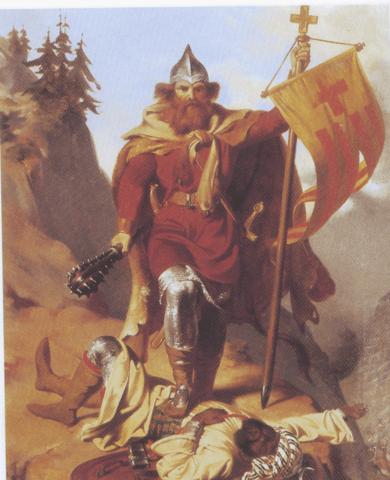 Conquesta i creació dels comtats de la Gòtia
