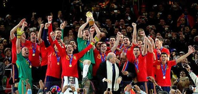 Selecció espanyola guanyadora de la Copa del Món fútbol Sudàfrica (cultural)