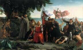 Cristòfol Colom arriba a Amèrica