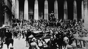 Crisis  del modelo capitalista(Felices años 20 y crack)