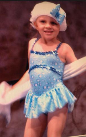 Tuve mi primera recital de baile. Era la primavera y hacía un poco de cálida.el cantante de moda era Flo Rida.