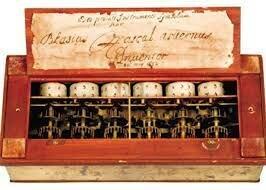 calculadora mecánica de blaise
