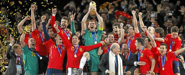 Espanya guanya el mundial de futbol