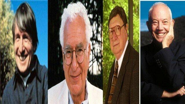 John H. Holland, Murray Gell-Mann, Harold Morowitz, W. Brian Arthur