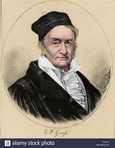 C. Gauss (1777-1855)