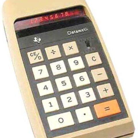 Os microprocesadores e calculadoras de peto