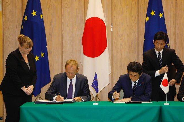 Acord de lliure comerç entre la Unió Europea i el Japó