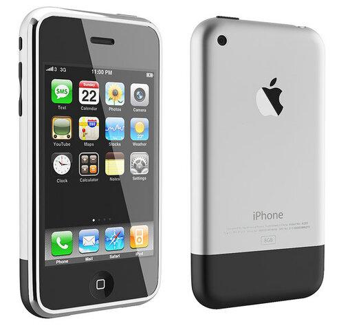 Apple lanza el iPhone 2G