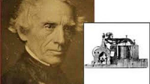 Samuel Morse inventa el primer telegrama