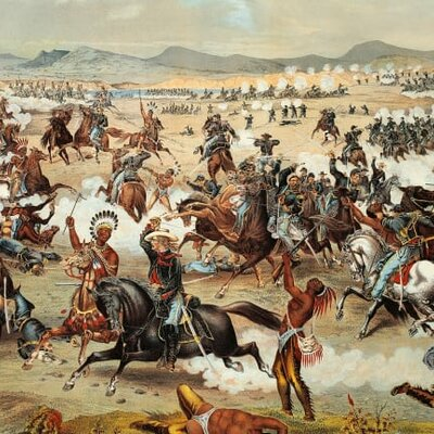 Native American Wars 1850-1900 timeline