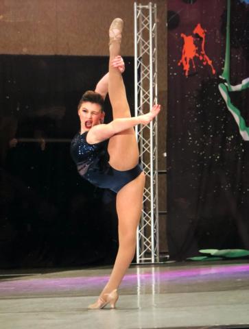 Realicé una rutina de baile en nacionales el año pasado