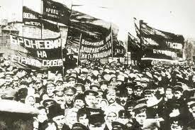 la revolucion marxista soviética en Rusia